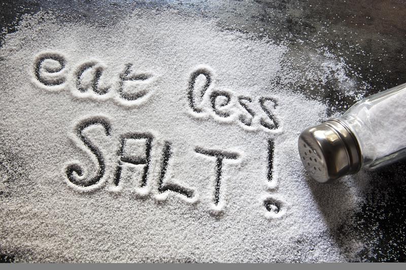 vähennä suolaa